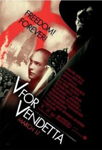 V for Vendetta (2006) movie poster