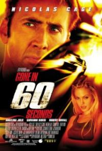 Gone in Sixty Seconds movie poster