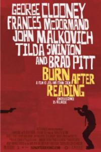 Burn After Reading (2008) movie poster