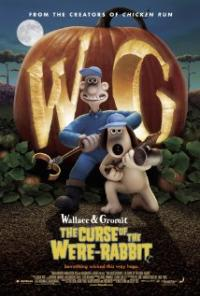 Wallace & Gromit in The Curse of the Were-Rabbit movie poster