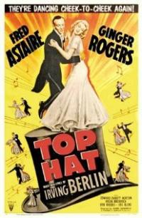 Top Hat (1935) movie poster