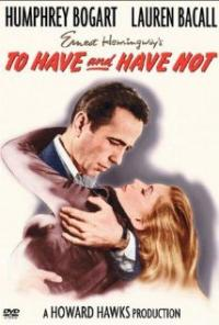 To Have and Have Not (1944) movie poster