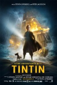 The Adventures of Tintin (2011) movie poster