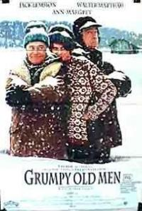 Grumpy Old Men (1993) movie poster