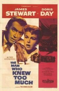 The Man Who Knew Too Much (1956) movie poster