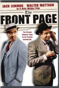 The Front Page (1974) movie poster