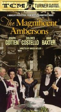 The Magnificent Ambersons (1942) movie poster