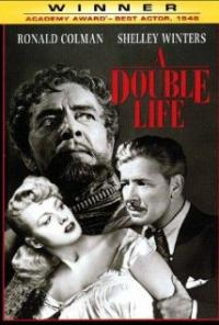 A Double Life (1947) movie poster