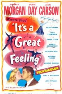 It's a Great Feeling (1949) movie poster
