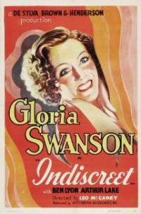 Indiscreet (1931) movie poster