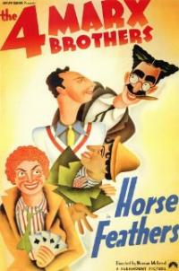 Horse Feathers (1932) movie poster