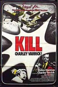 Charley Varrick (1973) movie poster