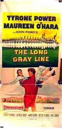 The Long Gray Line (1955) movie poster