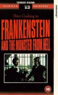 Frankenstein and the Monster from Hell (1974) movie poster