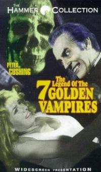 The Legend of the 7 Golden Vampires (1974) movie poster