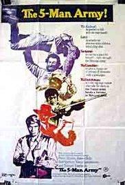 The Five Man Army (1969) movie poster