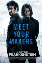 Victor Frankenstein (2015) movie poster