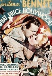 What Price Hollywood? (1932) movie poster