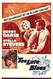 Too Late Blues (1961) movie poster