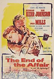 The End of the Affair (1955) movie poster